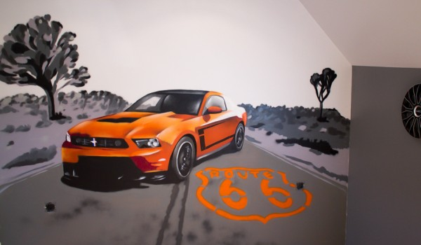 décoration ford mustang
